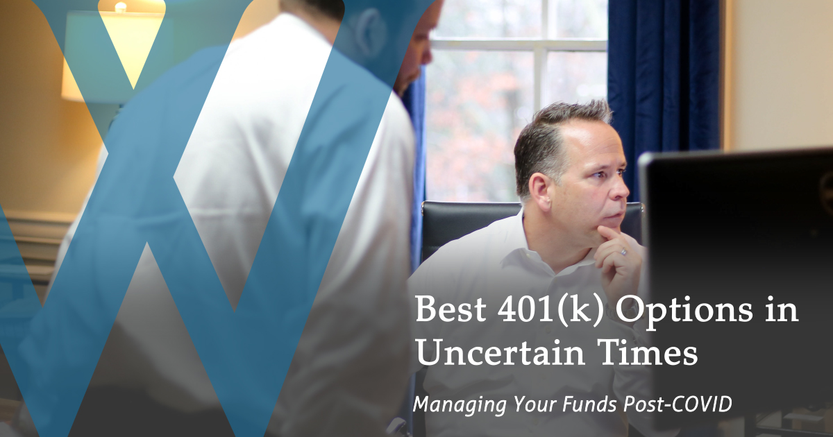 Wickham Financial Services staff assists with 401(k) options amid COVID-19